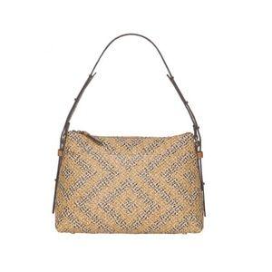 Eric Javits Geometric Athena Woven Shoulder Bag